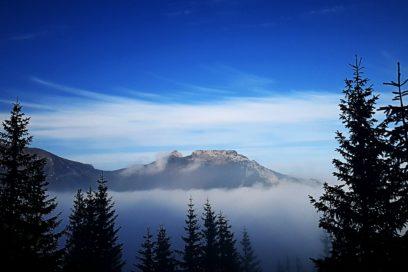 Burze w górach